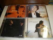 lot of 4 Josh Groban CDs Noel, With You, Closer, Live at the Greek