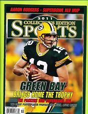 2011 Collector's Edition Green Bay Packers Super Bowl XLV Champions Magazine