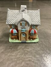 Partylite Coffee Shop Tealight Candle Holder Holiday Village P0226 Retired Rare!