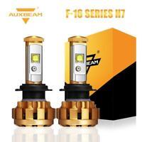 2X Auxbeam H7 LED Fog Light Headlight Bulbs Kit 60W 6000LM 6000K Hi/Lo Beam Lamp