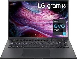 """LG Gram 16Z90P - 16"""" Intel evo /CORE i7 1165G7/16GB/256GB SSD new!!!!!"""