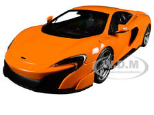 MCLAREN 675LT ORANGE 1/18 DIECAST MODEL CAR BY KYOSHO C 09541 P0