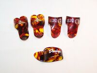 5Pc Large Professional Finger Picks for Banjo Ukulele Guitar  FREE SHIPPING