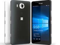 Nuovo Microsoft Lumia 950XL Nera 4G LTE 32GB 20MP Wi-Fi Smartphone Sbloccato