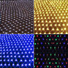 US 4.9ft*4.9ft 96 LED String Fairy Light Net Mesh Curtain Xmas Wedding Party NEW