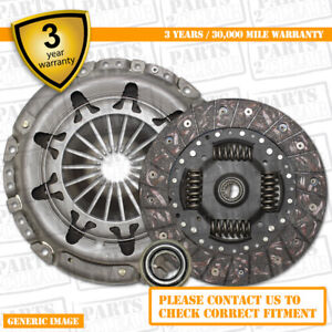 3 Part Clutch Kit with Release Bearing 190mm  3767 Complete 3 Part Set