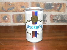 Vintage Kingsbeer Lager Pull Tab Steel Canadian Beer Can~Very Good Condition