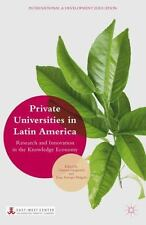 International and Development Education: Private Universities in Latin...