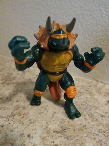Playmates Toys 1997 Tmnt Dino Turtles Tricera Mike Teenage Mutant Ninja Turtles