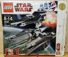Lego 8087 Star Wars TIE Defender Unique 3 Winged Vehicle *7pcs missing*