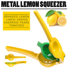 Kitchen Lemon Lime Squeezer Premium Quality Metal Juice Extractor
