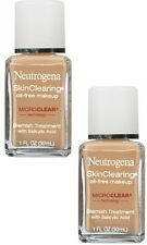 Neutrogena SkinClearing Oil-Free Makeup, Buff [30], 2 pack