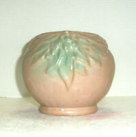 Vintage Art Pottery Planter Leaves