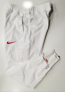 Nike UNRELEASED Men Team USA Olympics Tokyo Medal Stand Track Pants White MEDIUM