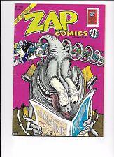 Zap Comics #6 1973 Robert Crumb Robert Williams S. Clay Wilson Spain Rodriguez