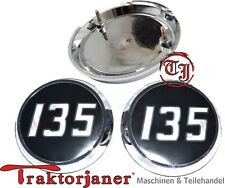 Tj -   265 Massey Ferguson 2 Stück Emblem für Traktor MF 135