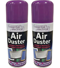 1x New Compressed Air Duster Spray Can Cleans Protects Laptops Keyboards 200ml