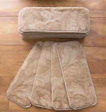 14 Beige  Tonal Stair Carpet Pads Treads  # 20cm x 50cm #