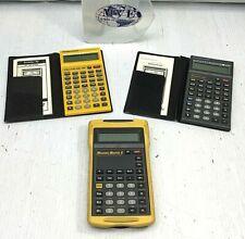 Calculated Industries Motorcalc Electrical96 Measuremaster5 Calculators Mix Lot