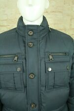 PAUL & SHARK YACHTING 700 FILL MEN'S GRAY DOWN PUFFY WINTER COAT SIZE M EUC