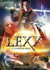 LEXX - THE COMPLETE SERIES (9 disc set) -  DVD - REGION 1 - Sealed