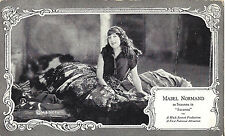 "Mabel Normand ""MACK & MABEL"" Hollywood Silent Film Star ""SUZANNA"" 1922 Postcard"