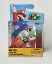 "World of Nintendo Super Mario Dry Bones 2.5"" Figure JAKKS Pacific Brand New"