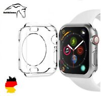 ✅ Apple Watch 3,4,5,6 & SE Gr. 40 /42/ 44mm Hülle Bumper Silikon Displayschutz ✅