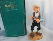 Walt Disney Classic Collection Pinocchio GEPPETTO Goodbye Son Figurine Box, COA