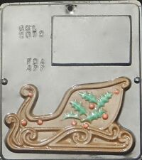 Sleigh Left Side Chocolate Candy Mold Christmas 2072 NEW