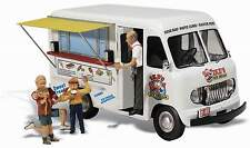 WOODLAND SCENICS AUTO SCENE IKE'S ICE CREAM TRUCK N SCALE VEHICLE