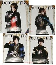 SID OUTSIDER 2014 Taiwan Promo 4-Posters (MAO Aki Shinji YUYA)