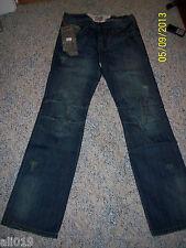 "International Male ""Smash"" Men's Blue Denim Jeans Style #J685  Size 30"