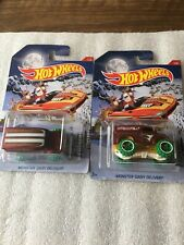 Hot Wheels Error Holiday Hot Rods 2017 Monster Dairy Delivery 2/New On Card B87