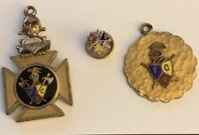 knights of pythias, FBC, Fob, Pendant and Pin