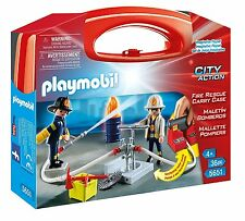 5651 Playmobil Fire Carrying Case