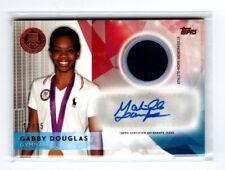 Rare Bronze 2016 Topps Gabby Douglas Autograph & Relic Olympic Gymnastics 18/25