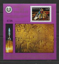 PARAGUAY Sc C454 NH SOUVENIR SHEET OF 1977 - SPACE - EXPLORATION OF MARS