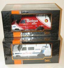 x2 1/18 Ford Transit Mk.2 Rally Service Vans David Jones & Belga Team Motorsport