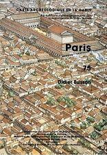 """Carte Archéologique de la Gaule """"PARIS.75"""" (Neuf) - XP DEUS"""