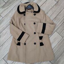 Women's Winter Coat, Size 14, Beige From Shopdirect