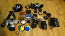 Vintage Camera lot Minolta 35mm APS Accessories Cookin NIKON FUJIFILM OLYMPUS