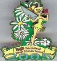 Disney Pin 37916 WDW Epcot International Flower & Garden Festival Tinker Bell LE