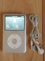 Apple iPod Classic 6th Generation Silver 80GB MB029LL Music/Video Player TESTED