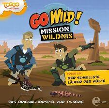 GO WILD!-MISSION WILDNIS-HÖRSPIEL Z.TV-SERIE 19: DER SCHNELLSTE LÄUFER  CD NEU
