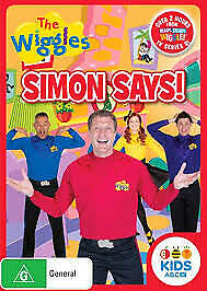 The Wiggles - Simon Says (DVD) Brand New and Sealed Region 4 🎬🎬