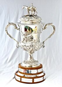 1846 Victorian Sterling Silver Horse Trophy. Chard Agricultural Show, Somerset.