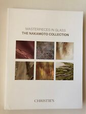 THE NAKAMOTO COLLECTION CATALOG, MASTERPIECES IN GLASS, CHRISTIE'S NY 13 DEC 18