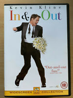 In and Out DVD 1997 LGBTQ+ Comedy Movie Classic with Kevin Kline