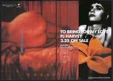 1995 PJ Harvey To Bring You My Love JAPAN album press ad / print advert pj3r